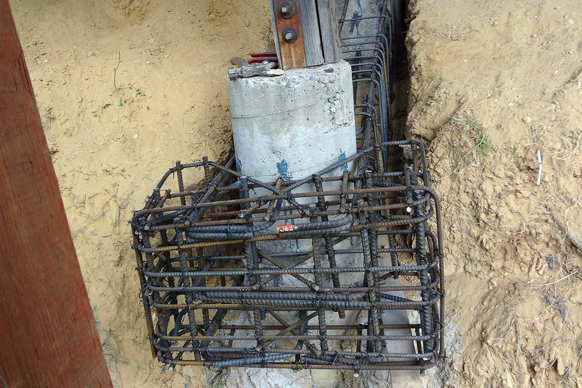 Helical Repair of Concrete Deck Support 2 Los Gatos